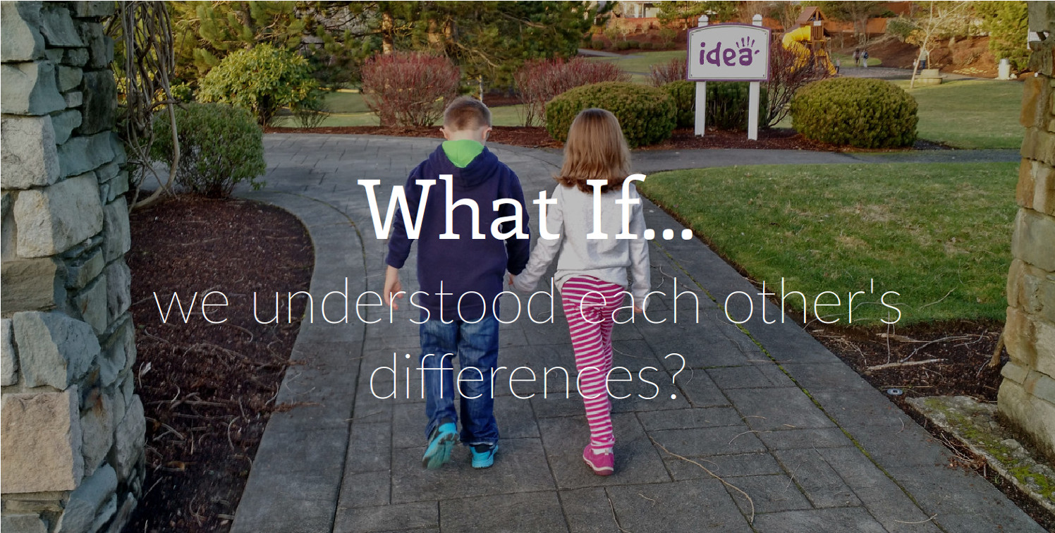 What if we understood each other's differences